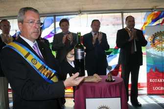 Acto de proclamación del vino ganador