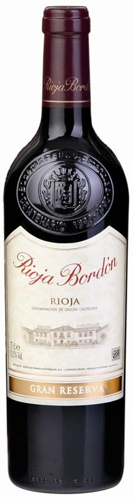 Rioja Bordón Gran Reserva nac - copia