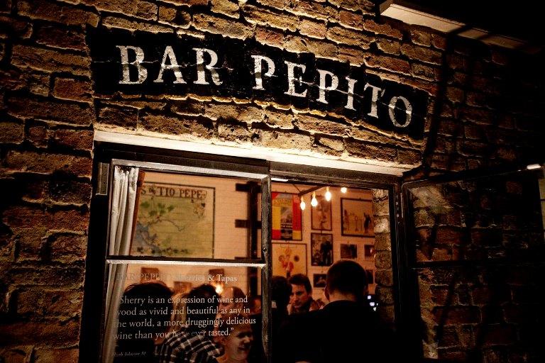 Exterior del bar Pepito