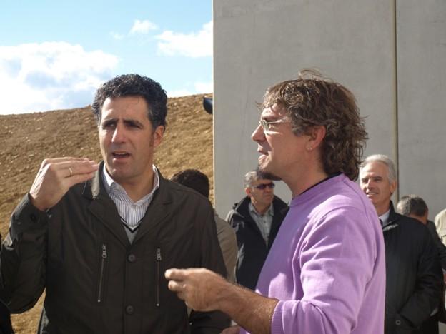 Miguel Induráin y Txus Macias