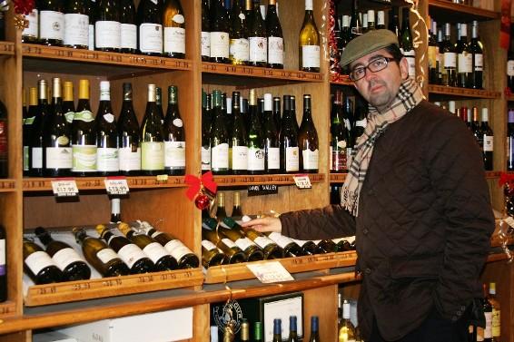 Joaquín Parra, creador de www.ecatas.com y director de Wine UP Consulting