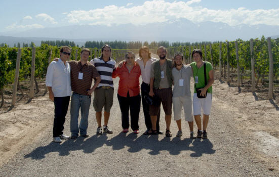 """El equipo de """"El Camino del Vino"""""""
