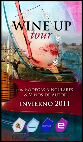 Cartel del Wine Up Tour de Invierno 2011