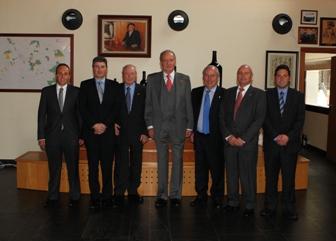 El Rey D. Juan Carlos con la familia Perez Pascuas