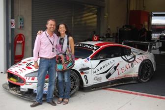 Bodegas Altanza y Aston Martin