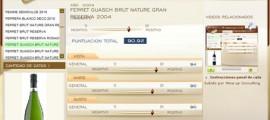 FERRET GUASCH BRUT NATURE GRAN RESERVA 2004 -  90.92 PUNTOS EN WWW.ECATAS.COM POR JOAQUIN PARRA WINE UP