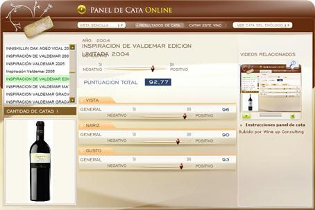 INSPIRACION DE VALDEMAR EDICION LIMITADA 2004 92.77 PUNTOS EN WWW.ECATAS.COM POR JOAQUIN PARRA WINE UP