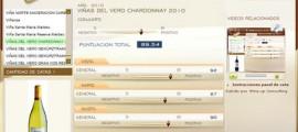 VIÑAS DEL VERO CHARDONNAY 2010 - 89.54 PUNTOS EN WWW.ECATAS.COM POR JOAQUIN PARRA WINE UP