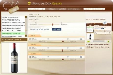 CATA RAMON BILBAO CRIANZA 2008 - 87.69 PUNTOS EN WWW.ECATAS.COM POR JOAQUIN PARRA WINE UP