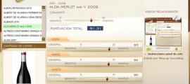 ALDA MERLOT & V 2009 -  91.31 PUNTOS EN WWW.ECATAS.COM POR JOAQUIN PARRA WINE UP