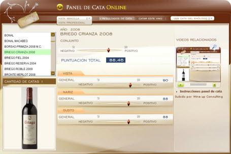 BRIEGO CRIANZA 88.46 PUNTOS EN WWW.ECATAS.COM POR JOAQUIN PARRA WINE UP