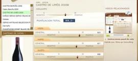 CASTRO DE LIMES 2009 89.31 PUNTOS EN WWW.ECATAS.COM POR JOAQUIN PARRA WINE UP