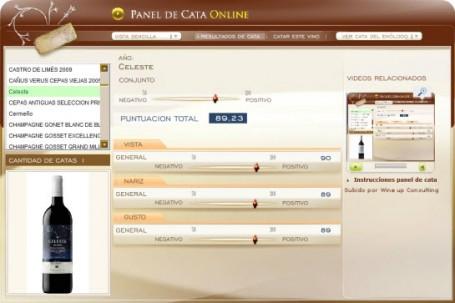 CELESTE 2009 89.23 PUNTOS EN WWW.ECATAS.COM POR JOAQUIN PARRA WINE UP