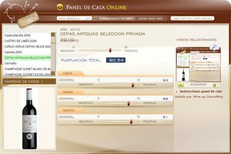 CEPAS ANTIGUAS SELECCION PRIVADA 2010 - 90.54 PUNTOS EN WWW.ECATAS.COM POR JOAQUIN PARRA WINE UP