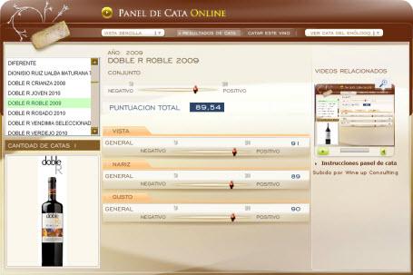 DOBLE R ROBLE 2009 - 89.54 PUNTOS EN WWW.ECATAS.COM POR JOAQUIN PARRA WINE UP