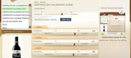 INSPIRACION VALDEMAR 2008 - 89.92 PUNTOS EN WWW.ECATAS.COM POR JOAQUIN PARRA WINE UP