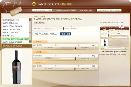 MARTINEZ CORTA SELECCION ESPECIAL 2006 - 92.38 PUNTOS EN WWW.ECATAS.COM POR JOAQUIN PARRA WINE UP