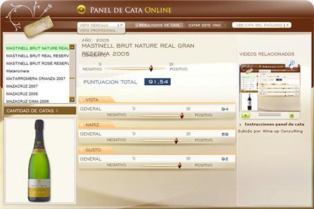 MASTINELL BRUT NATURE REAL GRAN RESERVA 2005 - 91.54 PUNTOS EN WWW.ECATAS.COM POR JOAQUIN PARRA WINE UP