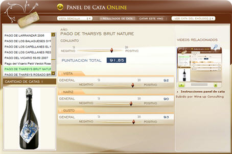 PAGO DE THARSIS BRUT NATURE 91.85 PUNTOS EN WWW.ECATAS.COM POR JOAQUIN PARRA WINE UP