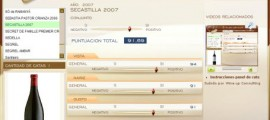 SECASTILLA 2007 - 91.69 PUNTOS EN WWW.ECATAS.COM POR JOAQUIN PARRA WINE UP