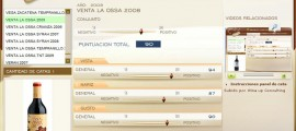 VENTA LA OSSA 2008 - 90 PUNTOS EN WWW.ECATAS.COM POR JOAQUIN PARRA WINE UP