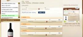 VIÑA POMAL CRIANZA 2009 - 88.15 PUNTOS EN WWW.ECATAS.COM POR JOAQUIN PARRA WINE UP
