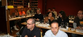 Cata en la pasada edición del Wine Up Tour en Tomevinos