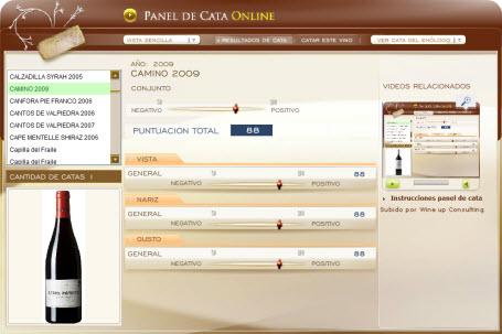 CAMINO 2009 - 88 PUNTOS EN WWW.ECATAS.COM POR JOAQUIN PARRA WINE UP