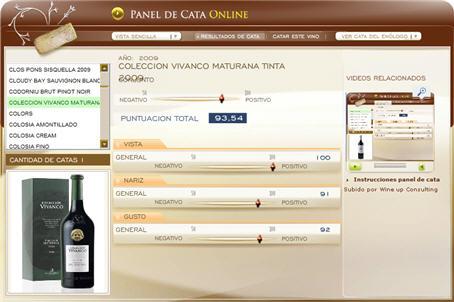 COLECCION VIVANCO MATURANA TINTA - 93.54 PUNTOS EN WWW.ECATAS.COM POR JOAQUIN PARRA WINE UP