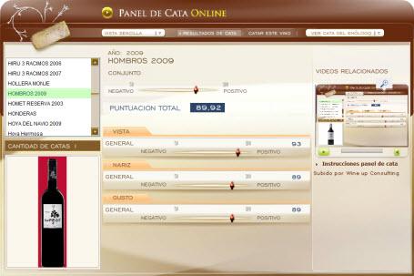HOMBROS 2009 - 89.92 PUNTOS EN WWW.ECATAS.COM POR JOAQUIN PARRA WINE UP