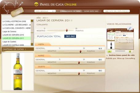 LAGAR DE CERVERA 2011 - 90.92 PUNTOS EN WWW.ECATAS.COM POR JOAQUÍN PARRA WINE UP