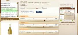 MARIMAR ESTATE ACERO CHARDONNAY 2009 - 89.85 PUNTOS EN WWW.ECATAS.COM POR JOAQUIN PARRA WINE UP