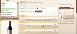 RESERVA SANTA ROSA 2006 - 92.31 PUNTOS EN WWW.ECATAS.COM POR JOAQUIN PARRA WINE UP