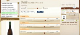 URBEZO CHARDONNAY 2011 - 88.15 PUNTOS EN WWW.ECATAS.COM POR JOAQUÍN PARRA WINE UP