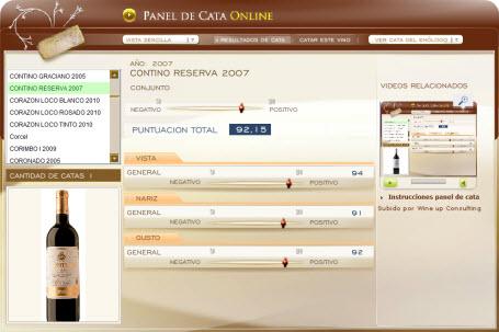 CONTINO RESERVA 2007 - 92.15 PUNTOS EN WWW.ECATAS.COM POR JOAQUIN PARRA WINE UP