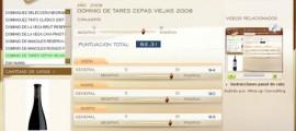 DOMINIO DE TARES CEPAS VIEJAS 2008 - 92.31 PUNTOS EN WWW.ECATAS.COM POR JOAQUIN PARRA WINE UP