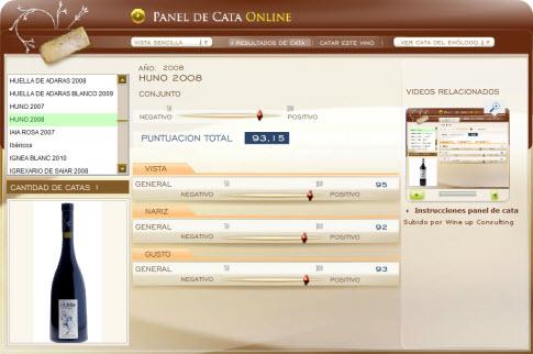 HUNO 2008 - 93.15 PUNTOS EN WWW.ECATAS.COM POR JOAQUIN PARRA WINE UP