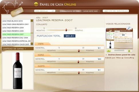 LEALTANZA RESERVA 2007 - 90.31 PUNTOS EN WWW.ECATAS.COM POR JOAQUIN PARRA WINE UP