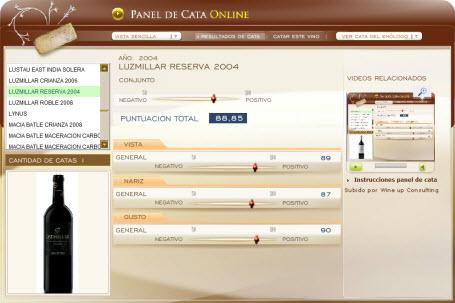 LUZMILLAR RESERVA 2004 - 88.85 PUNTOS EN WWW.ECATAS.COM POR JOAQUIN PARRA WINE UP