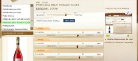 PERELADA BRUT ROSADO CUVEE ESPECIAL 2008 - 90.85 PUNTOS EN WWW.ECATAS.COM POR JOAQUIN PARRA WINE UP