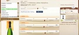 ROSELL Y FORMOSA GRAN RESERVA BRUT NATURE 2007 - 90.31 PUNTOS EN WWW.ECATAS.COM POR JOAQUIN PARRA WINE UP