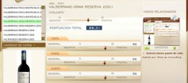 VALSERRANO GRAN RESERVA 2001 - 88.31 PUNTOS EN WWW.ECATAS.COM POR JOAQUIN PARRA WINE UP