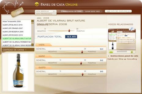 ALBERT DE VILARNAU BRUT NATURE GRAN RESERVA 2008 - 93.85 PUNTOS EN WWW.ECATAS.COM POR JOAQUIN PARRA WINE UP