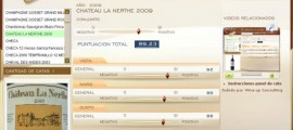 CHATEAU LA NERTHE 2009 - 89.23 PUNTOS EN WWW.ECATAS.COM POR JOAQUIN PARRA WINE UP