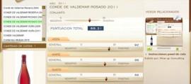 CONDE DE VALDEMAR ROSADO 2011 - 88.31 PUNTOS EN WWW.ECATAS.COM POR JOAQUIN PARRA WINE UP