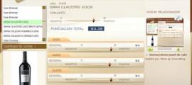 GRAN CLAUSTRO 2005 - 93.38 PUNTOS EN WWW.ECATAS.COM POR JOAQUIN PARRA WINE UP