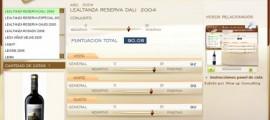 LEALTANZA RESERVA ARTISTAS ESPAÑOLES DALÍ 2004 - 90.08 PUNTOS EN WWW.ECATAS.COM POR JOAQUIN PARRA WINE UP