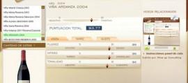 VIÑA ARDANZA 2004 - 93.77 PUNTOS EN WWW.ECATAS.COM POR JOAQUIN PARRA WINE UP