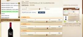 BERONIA TEMPRANILLO DE ELABORACION ESPECIAL 2009 - 90.62 PUNTOS EN WWW.ECATAS.COM POR JOAQUIN PARRA WINE UP