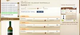 INSPIRACION DE VALDEMAR TEMPRANILLO BLANCO 2011 - 89.85 PUNTOS EN WWW.ECATAS.COM POR JOAQUIN PARRA WINE UP